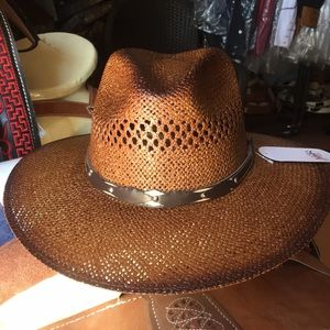 Beautiful brown hat unisex